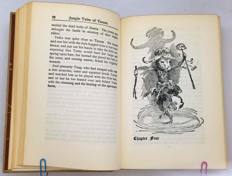 Jungle Tales of Tarzan – Edgar Rice Burroughs 1919