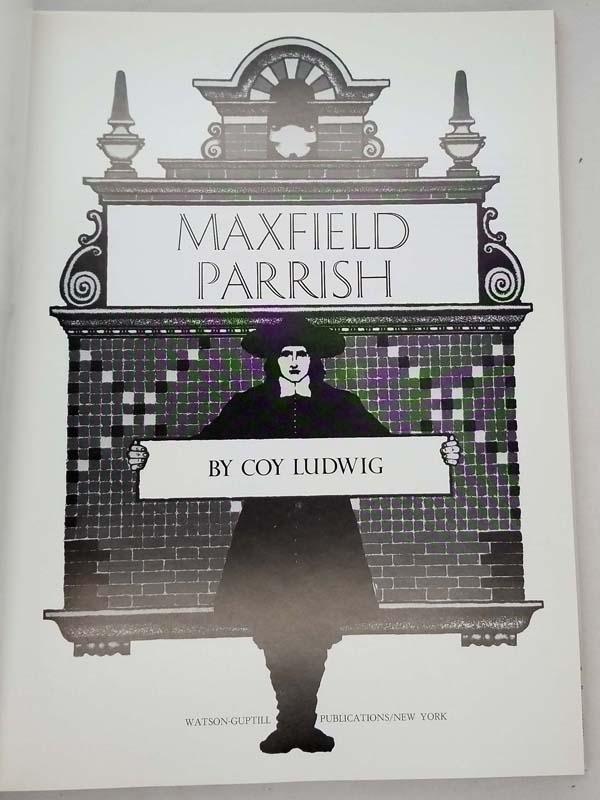 Maxfield Parrish - Coy Ludwig 1972