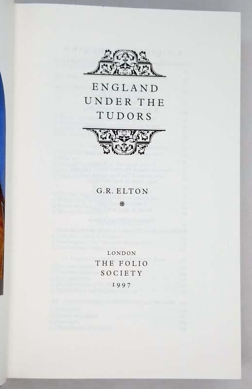 England Under the Tudors - G.R. Elton1997