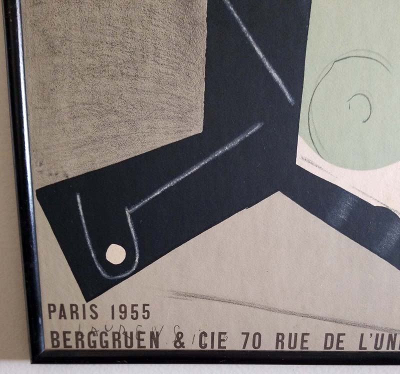 Henri Laurens - Papier Collés Lithograph Poster