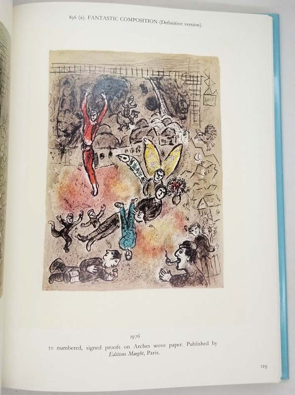 Marc Chagall Lithographs V (1974-1979) - Charles Sorlier