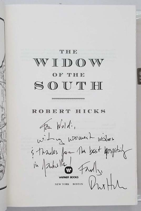 The Widow of the South - Robert Hicks 2005