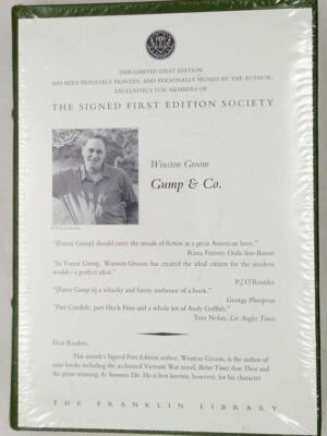 Gump & Co. - Winston Groom Ltd. Ed. 1995 SIGNED
