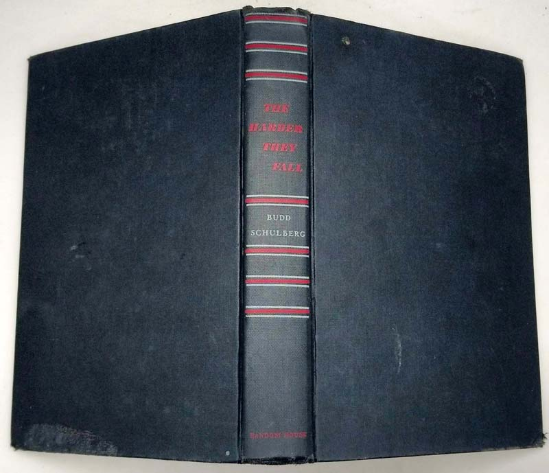 The Harder They Fall - Budd Shulberg 1947 | 1st Edition