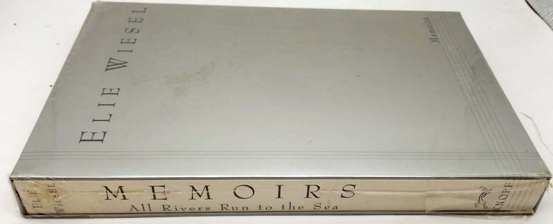 All Rivers Run to the Sea: Memoirs - Elie Wiesel 1995 ARC Proof SIGNED