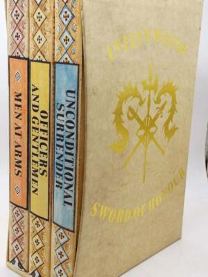 Sword of Honour Trilogy - Evelyn Waugh 1990 Box Set | Folio Society