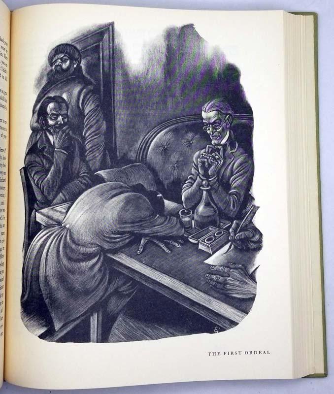 The Brothers Karamazov - Fyodor Dostoyevsky 1958 (Fritz Eichenberg)