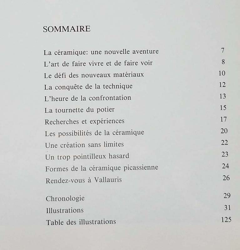 Céramique de Picasso (Ceramic) - George Ramié 1985