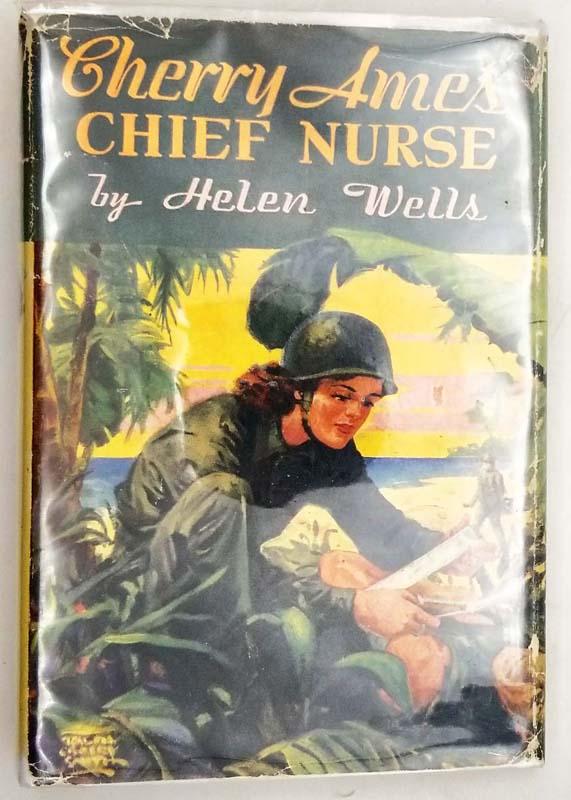 Cherry Ames #3 - Chief Nurse 1944 - Helen Wells   1st Edition