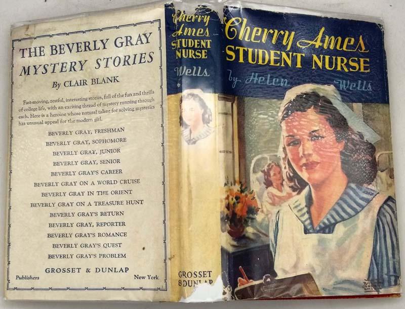 Cherry Ames #1 - Student Nurse - Helen Wells 1943 | 1st Edition