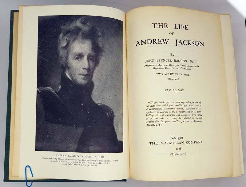 The Life of Andrew Jackson - John Spencer Bassett 1928