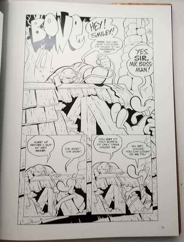 The Art of Bone - Jeff Smith 2007