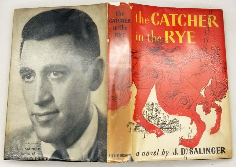 The Catcher in the Rye - J. D. Salinger 1951 BOMC