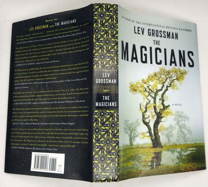 The Magicians - Lev Grossman 2009 SIGNED