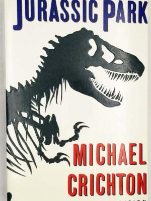 Jurassic Park - Michael Crichton ARC Uncorrected Proof 1990