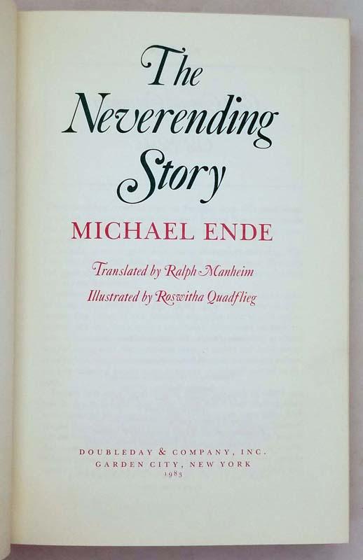 The Neverending Story - Michael Ende 1983