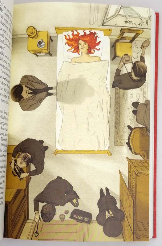 Cover Her Face - P.D. James 2009 | Folio Society