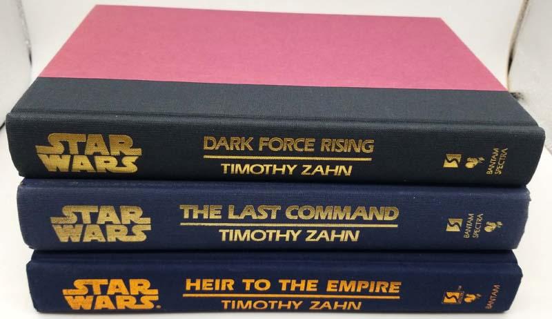 Stars War The Thrawn Trilogy - Timothy Zahn | 1st Edition
