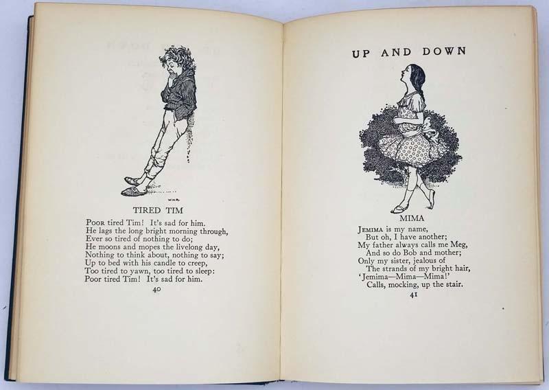 Peacock Pie - Walter de la Mare 1923 (Illus. W. Heath Robinson)