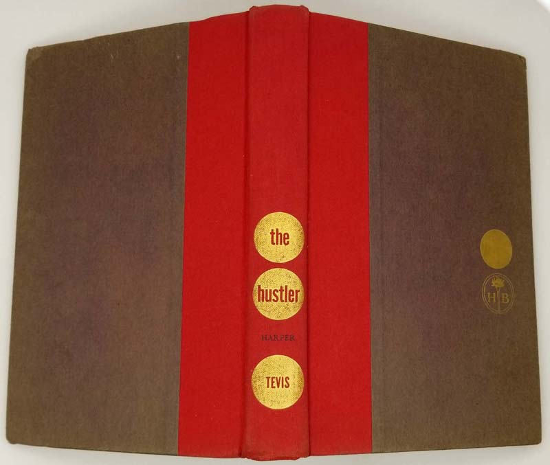 The Hustler - Walter Tevis 1959 1st Edition