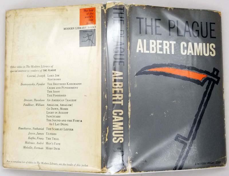 The Plague - Albert Camus 1948 | 1st edition
