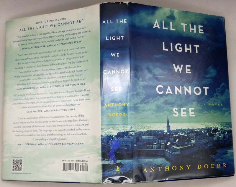 All the Light We Cannot See - Anthony Doerr 2014   1st Edition