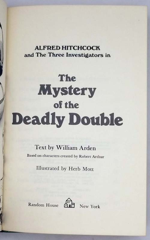 Alfred Hitchcock & The Three Investigators #28 - Mystery of the Deadly Double 1978