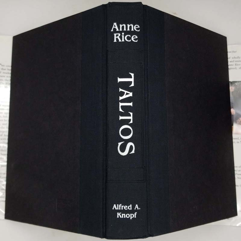 Taltos - Anne Rice 1994 SIGNED