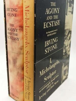 The Agony and the Ecstasy & I, Michelangelo, Sculptor Box Set - Irving Stone | SIGNED