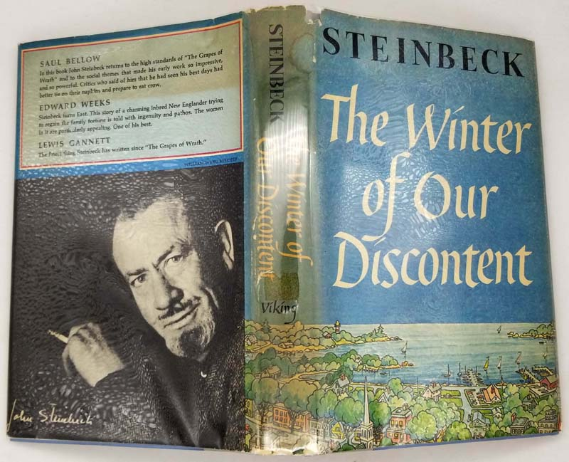 The Winter of Our Discontent - John Steinbeck 1961