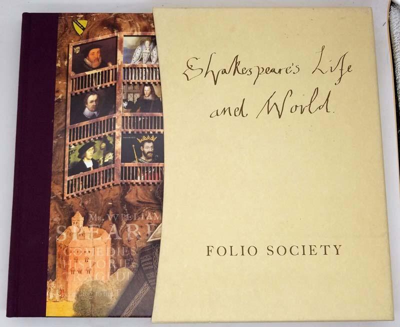 Shakespeare's Life and World - Katherine Duncan-Jones 2004   Folio Society