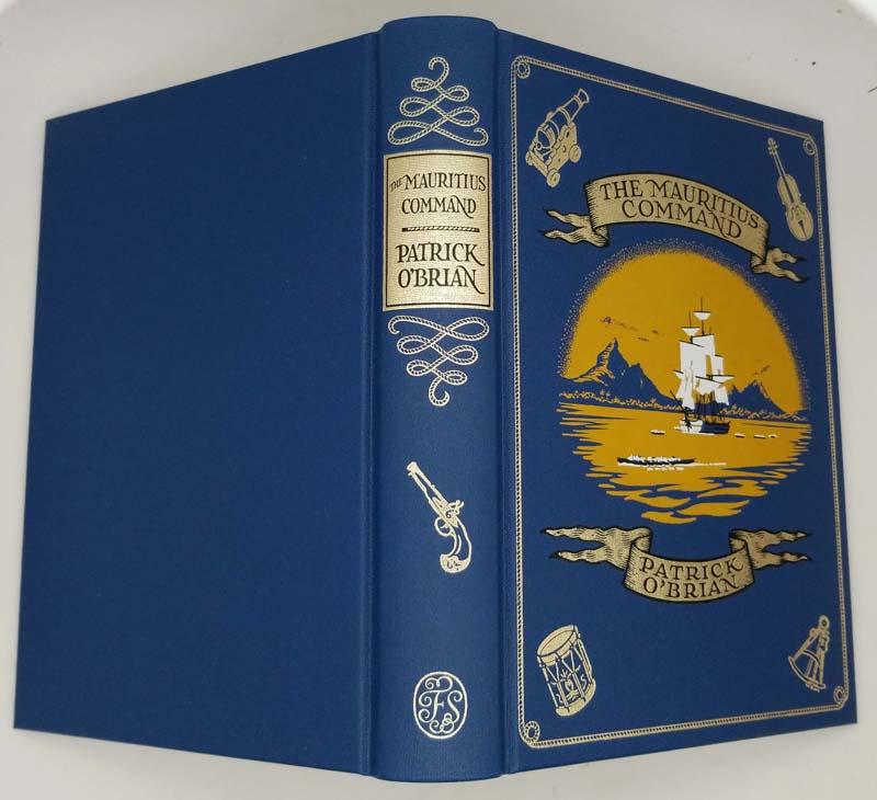 The Mauritius Command - Patrick O'Brian 2009   Folio Society