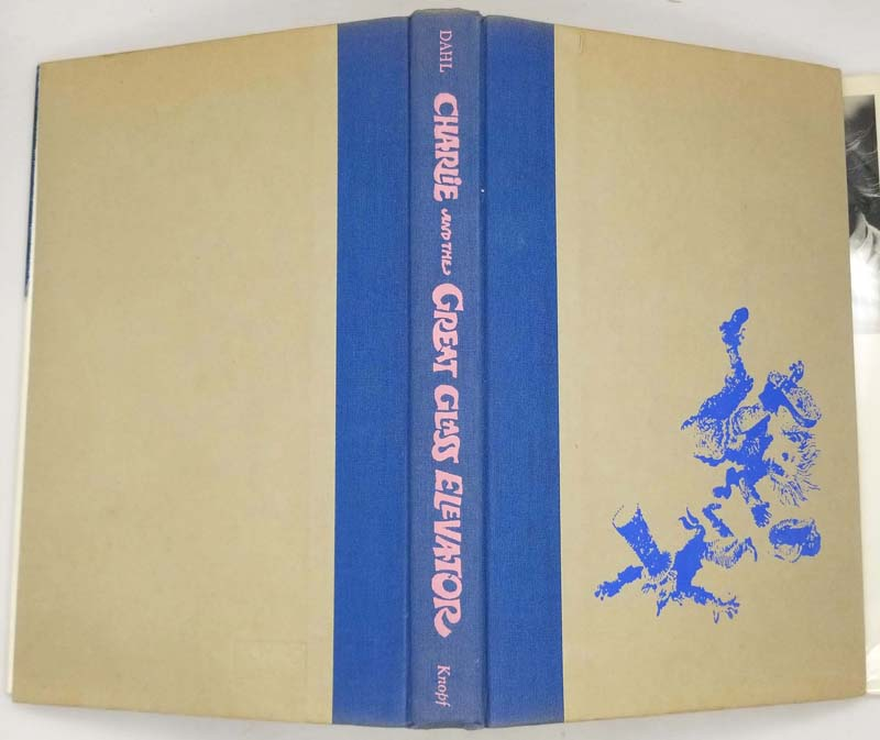 Charlie and the Great Glass Elevator - Roald Dahl 1972 | 1st Edition