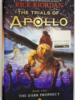 The Trials of Apollo, Book Two: Dark Prophecy - Rick Riordan | 1st Edition SIGNED