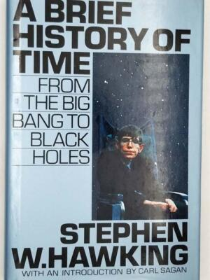 A Brief History of Time - Stephen Hawking 1988 | 1st Edition