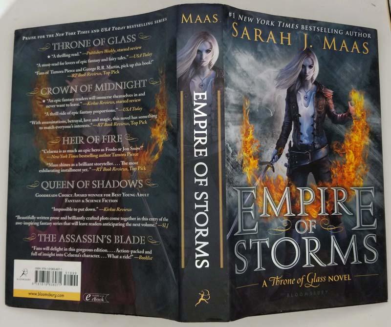 Empire of Storms - Sarah J. Maas 2016 | 1st Edition