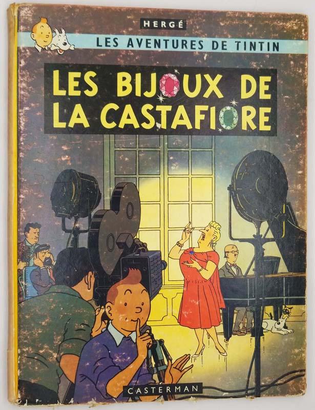 Tintin - Les Bijoux de Castafiore - Herge 1963   1st Edition