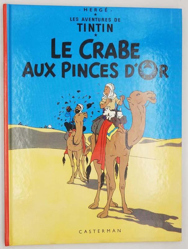 Tintin Le Crab aux Pinces d'Or - Hergé 1982