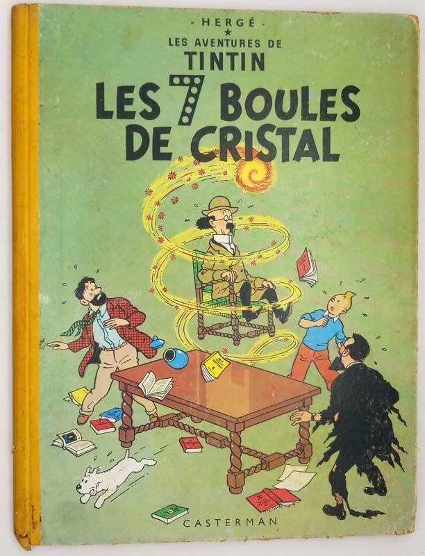 Tintin - Les 7 Boules de Crystal - Hergé 1958