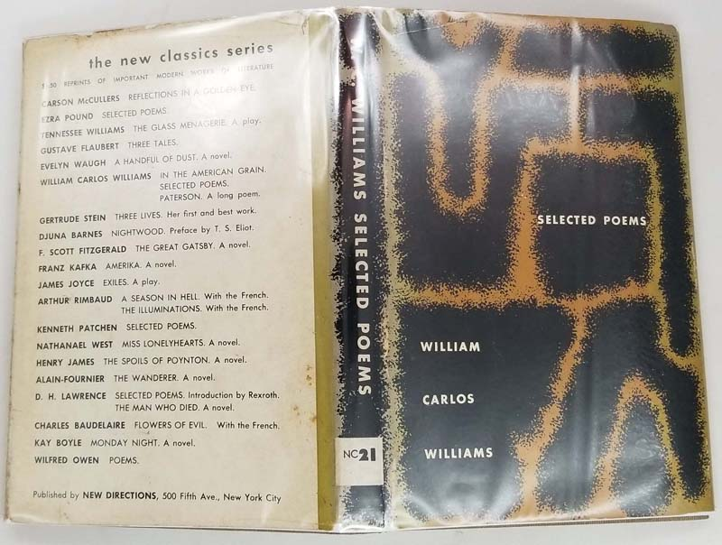 Selected Poems - William Carlos Williams 1949 | 1st Edition