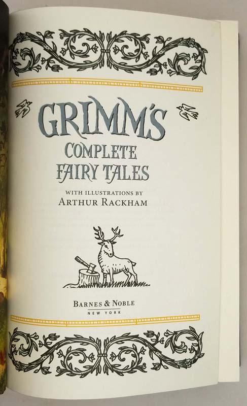 Grimm's Complete Fairy Tales - Arthur Rackham 2012