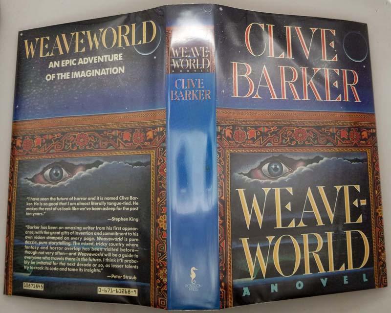 Weaveworld - Clive Barker 1987 | 1st Edition SIGNED