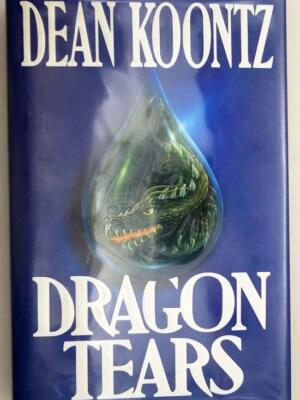 Dragon Tears - Dean Koontz 1993 | 1st Edition SIGNED