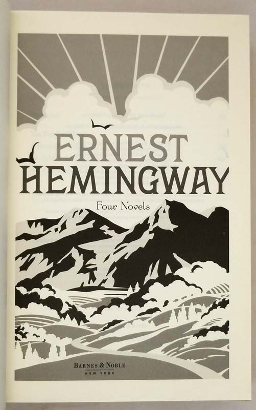 Four Novels - Ernest Hemingway 2011