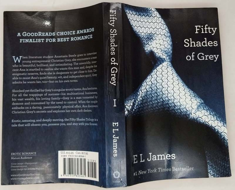Fifty Shades of Grey - E. L. James 2012   1st Edition