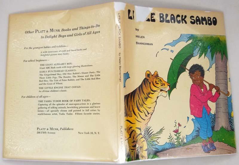 Little Black Sambo - Helen Bannerman (Illus. Eulalie) 1955