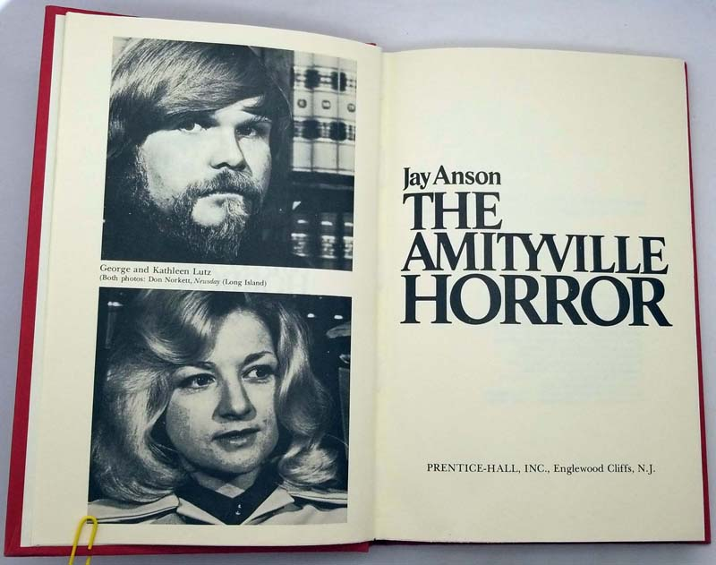 The Amityville Horror - Jay Anson 1977 BCE