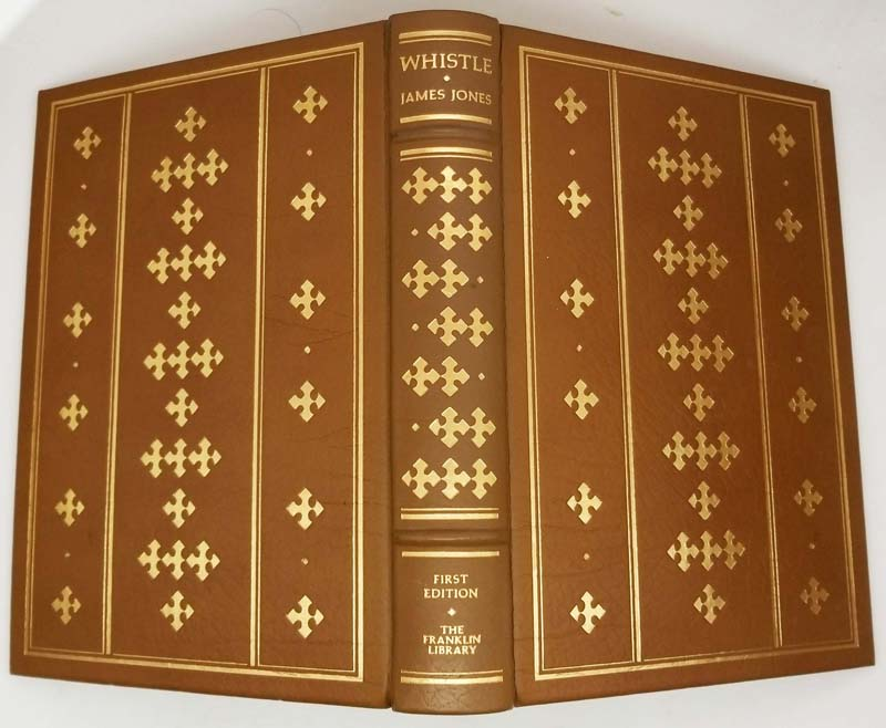 Whistle - James Jones 1978   1st Edition Franklin Library
