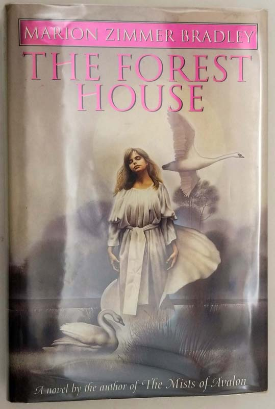 The Forest House - Marion Zimmer Bradley 1993 | 1st Edition SIGNED