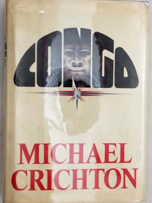 Congo - Michael Crichton 1980 | 1st Edition